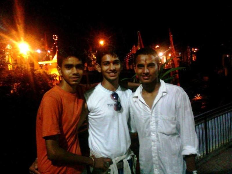 Tapkeshwar Mahadev at night