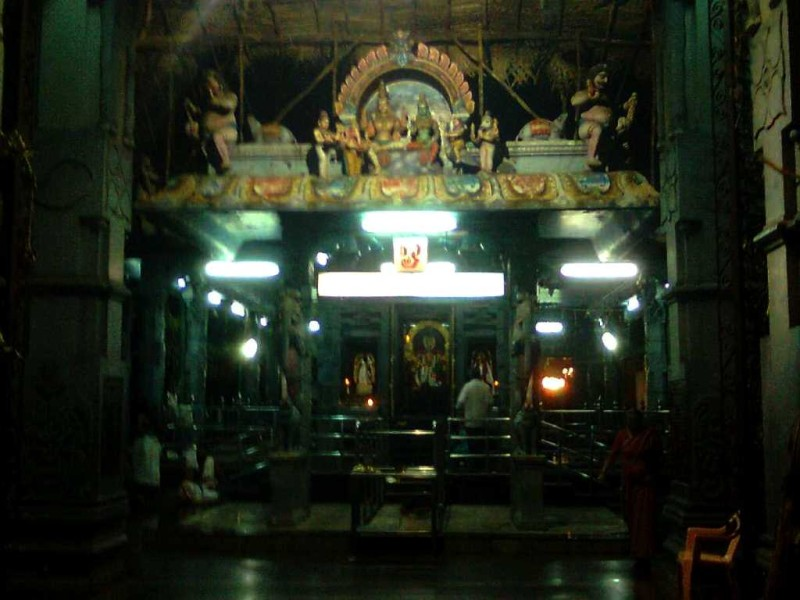 The temple near Besant nagar bus stand