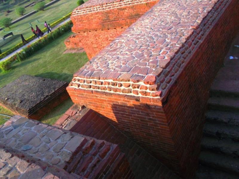 Ventilation system at Nalanda univeristy