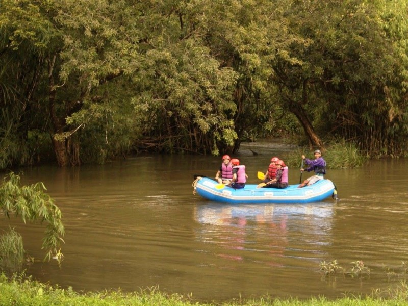 rafting in Kaveri at Dubare