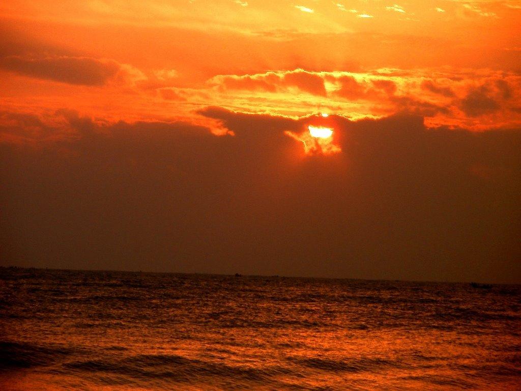 sunrise at auro beach